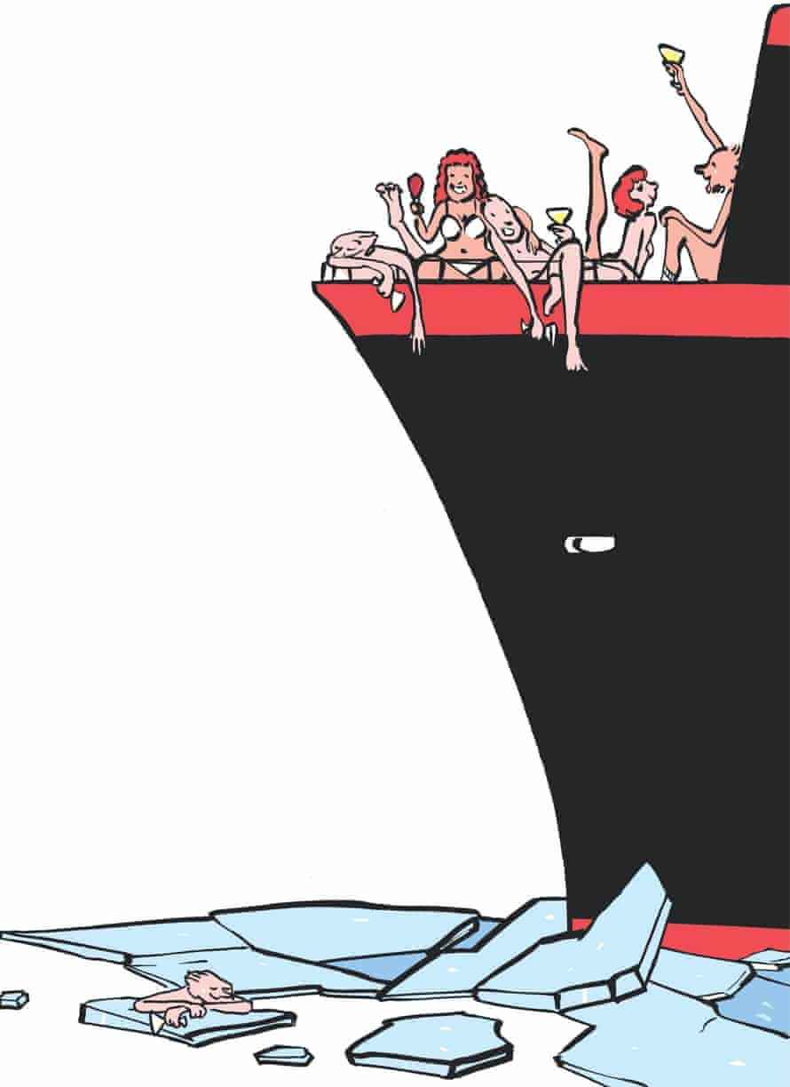 Sophie Heawood: ice-bound ferry