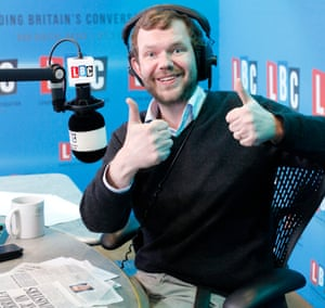 James O'Brien in the LBC radio studio