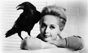 Tippi Hedren in The Birds (1963). Photograph: UniversaL/Allstar
