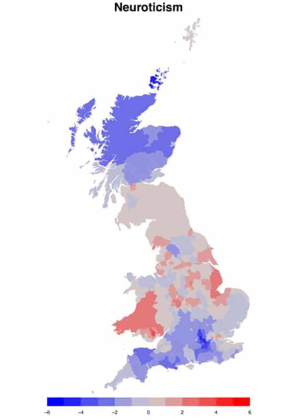Neuroticism in Great Britain
