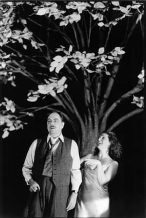 Death of a Salesman, Lyttelton Theatre, 1996. Alun Armstrong as Willy Loman and Louise Jameson