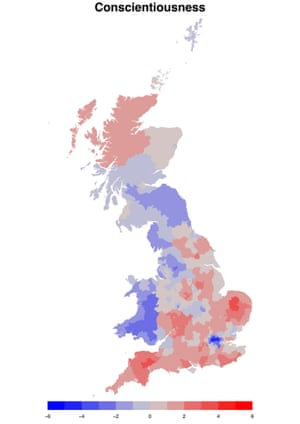 Conscientiousness in the UK