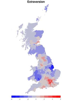 Extraversion in the UK