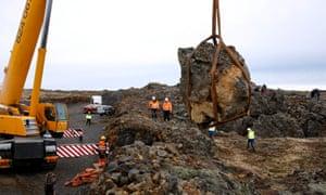 Iceland elf rock