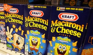 Kraft products on sale at a supermarket in Florida.