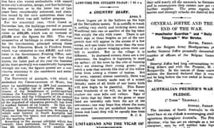The Manchester Guardian, 3 April 1915.