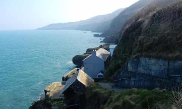 Village of Hallsands in Devon
