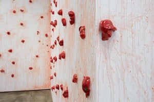 'Juice turns to blood': Tomatoes, 2013 by Los Carpinteros.