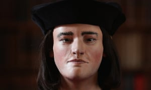 A reconstruction of King Richard III's face.