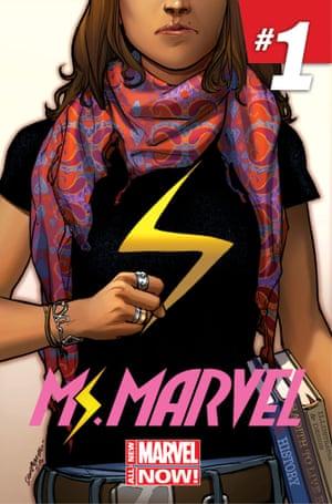 Kamala Khan, AKA Ms Marvel