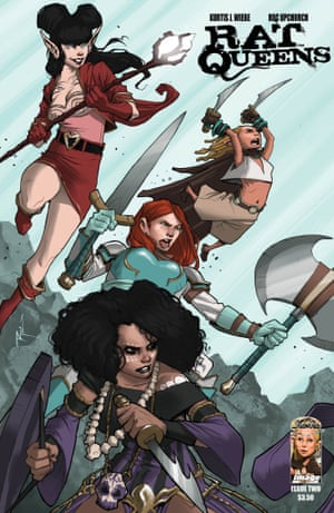 Rat Queens: one of the new generation of female-led comics.