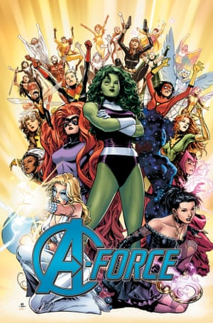 Marvel's A-Force.