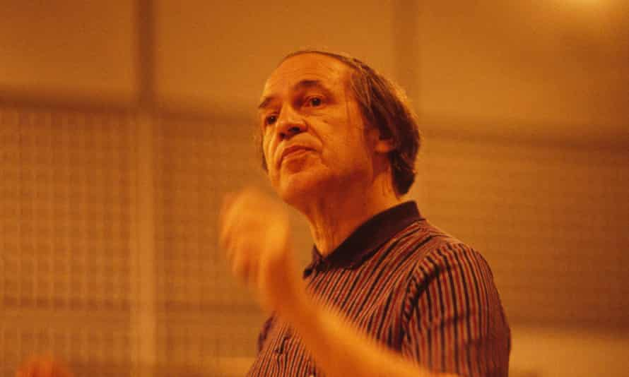 French composer and musician Pierre Boulez, photographed in 1981.