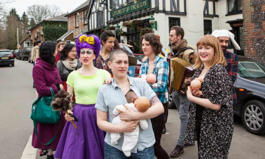 Beyond Ukip Cabaret, a Celebration of Diversty, which was held in the George & Dragon Pub