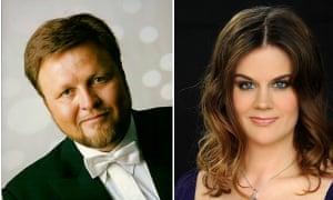 Opera singers Oleg Bryjak and Maria Radner were on the German Wings flight