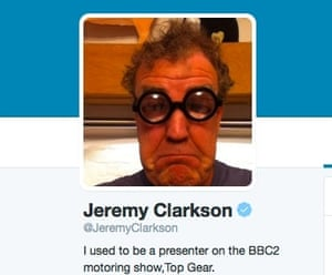 Clarkson Twitter page