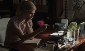 Rosamund Pike in the film version of Gone Girl