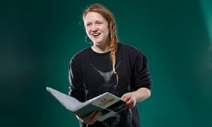 Hollie Poetry photographed by Katherine Anne Rose for the Observer New Review.