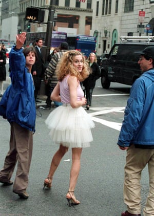 SJP got in super early on the ballet-fashion crossover