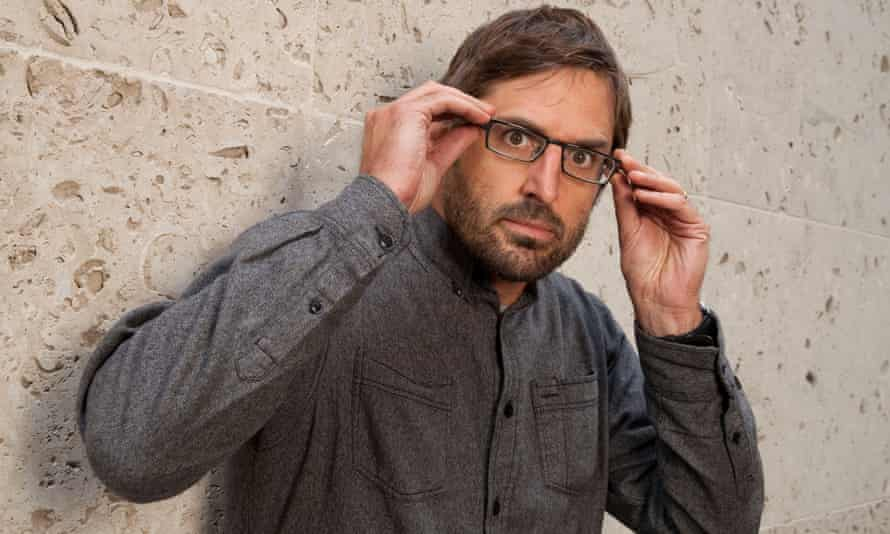 Louis Theroux, photographed outside the BBC.