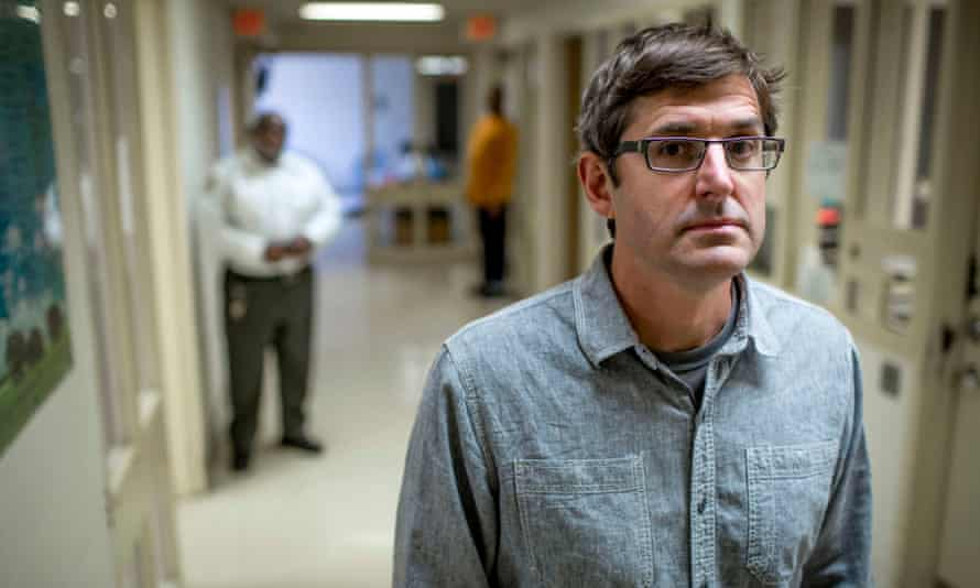 Louis Theroux on the ward at Twin Valley Behavioral Healthcare Hospital, Columbus, Ohiio.