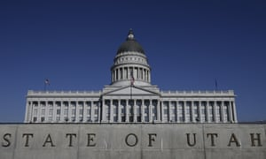 Utah State Capitol, in Salt Lake City