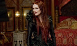 'A nice line in feathery collars': Julianne Moore in Seventh Son.