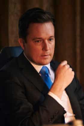 Mark Dexter as David Cameron in Coalition.
