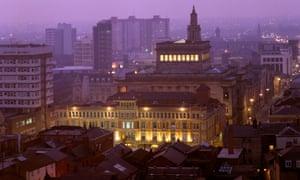 Preston city centre