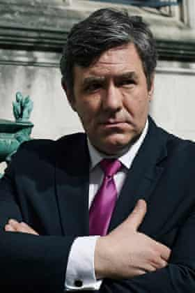 Ian Grieve as Gordon Brown in Coalition.