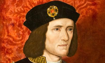 A painting of King Richard III