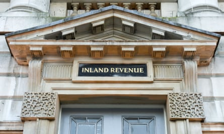 The Inland Revenue at Somerset House, London