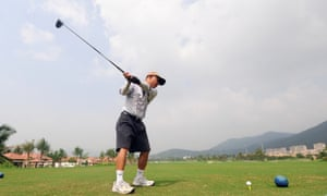 golf golfer china amateur leisure