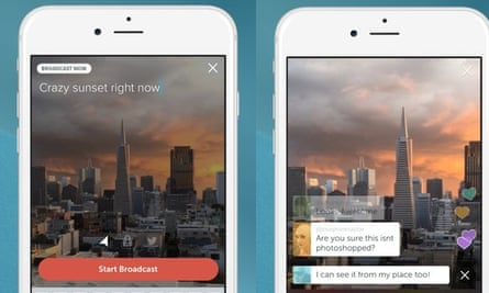 Twitter Launches Periscope Live Video Streaming App To Rival Meerkat Twitter The Guardian