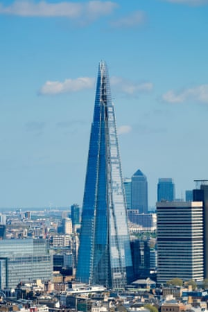 The Shard. Photograph: Alamy