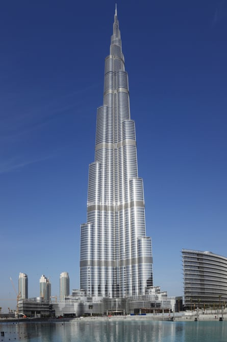 Mandatory Credit: Photo by WestEnd61 / Rex Features (1330128a)Dubai, United Arab Emirates, View of burj khalifa in dubai cityVARIOUSVARIOUSDUBAIUNITEDARABEMIRATESVIEWBURJKHALIFACITYMODERNREFLECTIONTRAVELDESTINATIONSKYSCRAPERDAYOUTDOORARCHITECTURELANDMARKWATERCLEARSKYBUILDINGEXTERIORINTERNATIONALTravelStockNot-Personality10069118