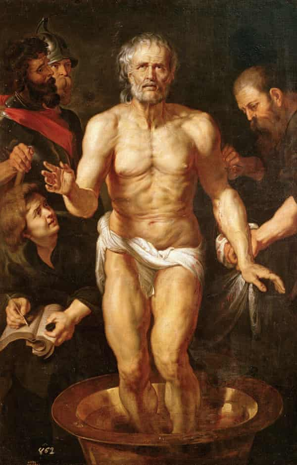 The Death of Seneca, c1615, by Peter Paul Rubens.