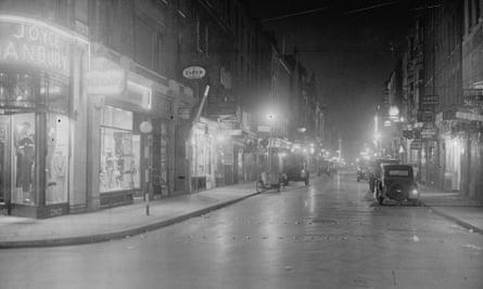 Old Compton Street, Soho, 1936.