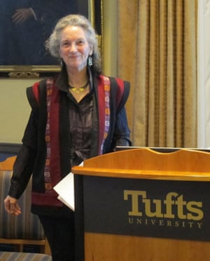 Neva Goodwin during Leontiel 2013 Prize Ceremony at Tufts University