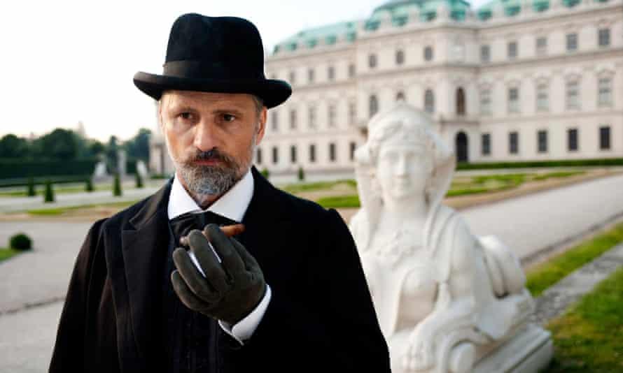 Viggo Mortensen as Sigmund Freud in the film A Dangerous Method. Rex