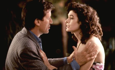 Sean Young with James Woods in The Boost (1988).