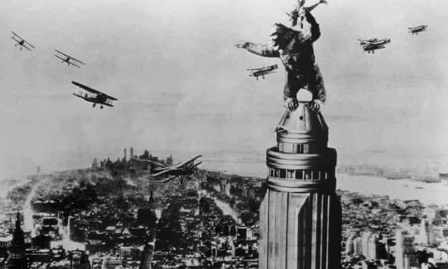 King Kong atop the Empire State Building (1933). Photograph: RKO/Allstar
