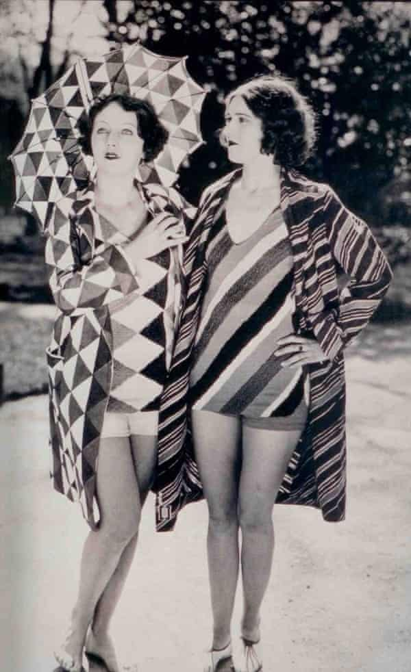 Bathing suits designed by Delaunay, c1920s.