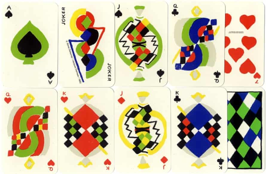 Simultané playing cards (1964).