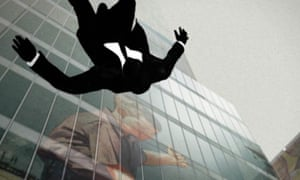 Falling Man … image from the opening sequence of Mad Men