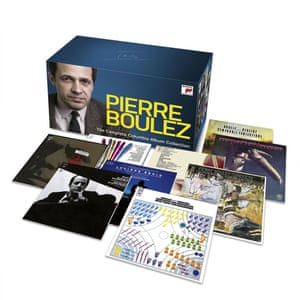 Columbia/sony Boulez box set