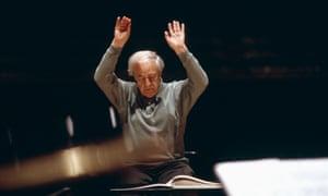 Pierre Boulez, 2002.