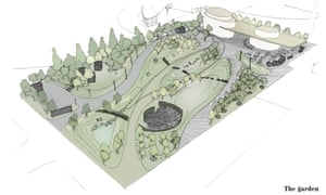 Urban plantlife: the design for the Gateway Pavilions garden in Greenwich