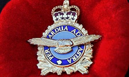 'Per ardua ad astra' badge