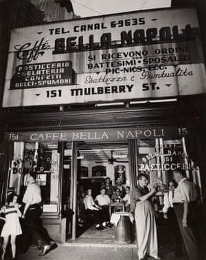 Caffé Bella Napoli, Mulberry Street, July 1944
